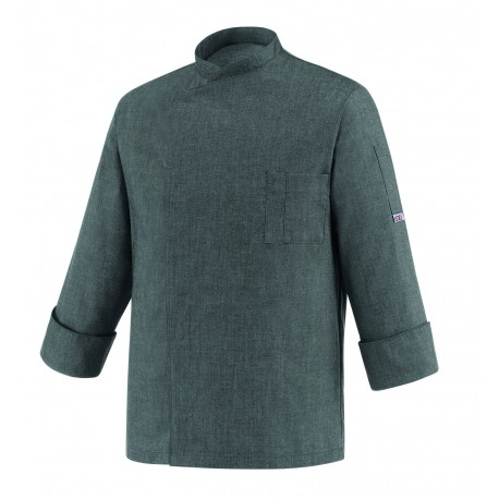 Chaqueta cocinero Egochef Cheap Grey Mix