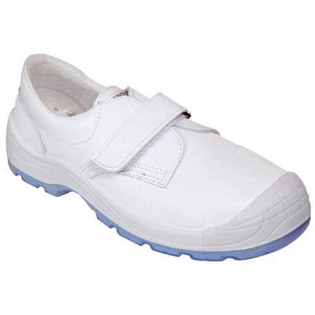 Zapato Panter Diamante VELCRO Totale S2 blanco