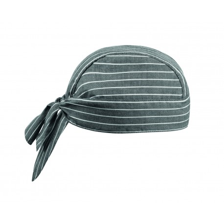 Bandana Egochef New Grey Stripe